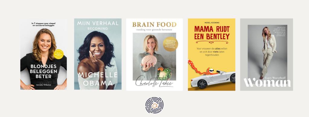ANnelou van Noort - boeken vrouwelijke ondernemers