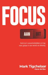 Boek Focys van Mark Tigchelaar